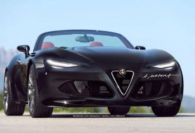 Alfa Romeo Spider 2015, l'italiana che viene dal Giappone