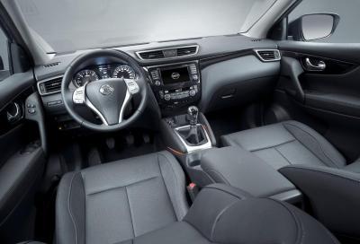 Nissan Qashqai: una plancia tutta nuova