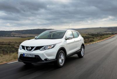 Nissan Qashqai, prova su strada: poco rollio