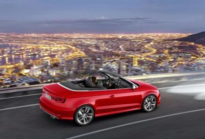 Audi S3 Cabriolet, la più potente di sempre