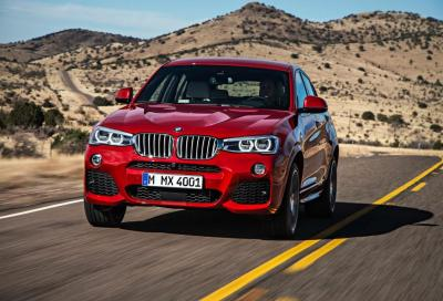 Nuova BMW X4 2014, 60 nuove foto, video e caratteristiche