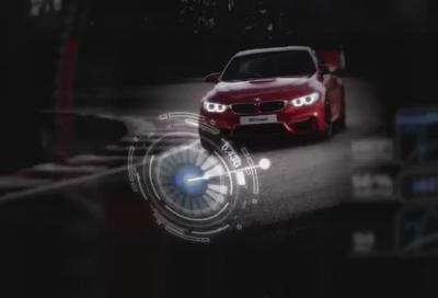 BMW M4 Coupé, un giro di pista a Brands Hatch con Andy Priaulx