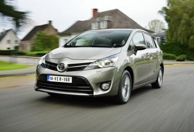 Nuova Toyota Verso 1.6 D-4D, prime impressioni