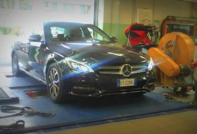 Mercedes Classe C 2014, primi test al banco e 9 nuovi video
