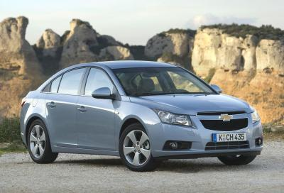 Chevrolet Cruze, vendite bloccate: l'asse anteriore si può rompere