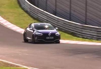 Nuova 2014 Renault Megane RS, attacco al Nurburgring