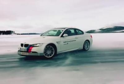 BMW Ice Power Training, qualche consiglio di guida
