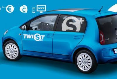 Car sharing, a Milano arrivano le VW UP!