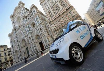 Il noleggio Car2Go arriva a Firenze con le smart