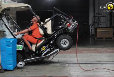Sicurezza: Microcar e quadricicli, risultati disastrosi nei crash test