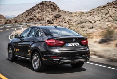 La nuova BMW X6 2015 in 90 immagini e 3 video HD
