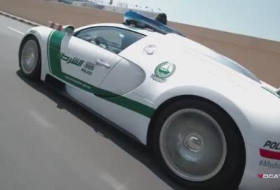 L'impressionante parco auto della Polizia di Dubai