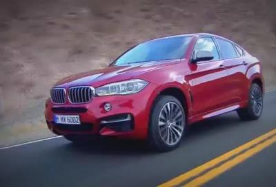 Nuova BMW X6 2014, i prezzi in Germania e 6 video HD