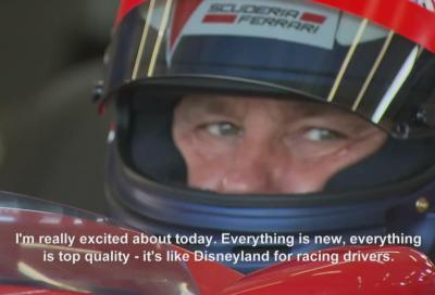 F1, Berger e Vettel si scambiano le monoposto
