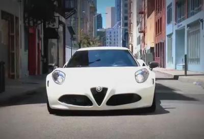 Alfa Romeo 4C in pista in USA