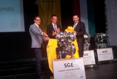 Nuovi motori Opel, al via la produzione