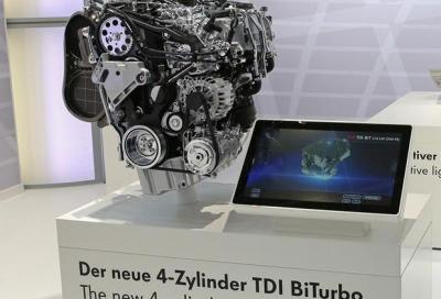 Tecnica, il 2.0 TDI da 240 CV e 500 Nm della VW