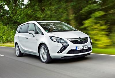 Opel Zafira Tourer, arriva l' 1.6 CDTI da 120 cv
