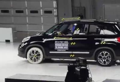 Crash test frontale disassato, deludono Mazda5, Juke e 500L