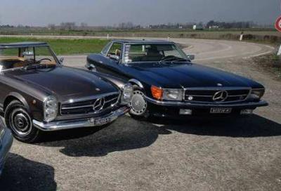 Mercedes-Benz SL: dalla Pagoda ad oggi
