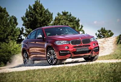 Nuova BMW X6 2015, listino prezzi , foto e video