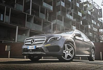 Mercedes GLA 220 CDI 4MATIC, la nostra prova