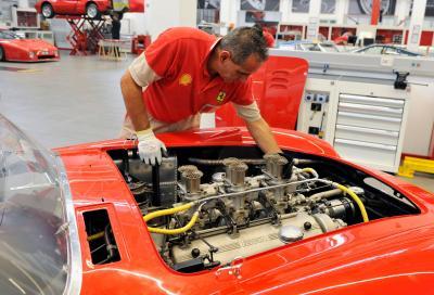 Ferrari, la 290 MM al Reparto Classiche