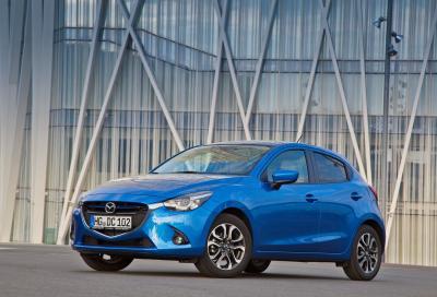 Nuova Mazda2 2015, foto e tutte le caratteristiche tecniche