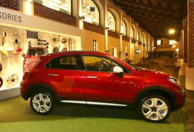 Nuova Fiat 500X, è anche Mopar