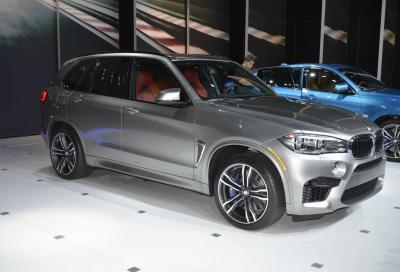 BMW, le nuove X5 M e X6 M al Salone di Los Angeles 2014