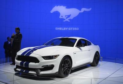 Ford Shelby GT350 Mustang al Salone di Los Angeles 2014