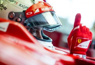 Sebastian Vettel fa sul serio a Fiorano, il video on board