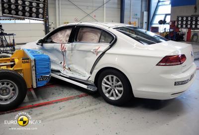 Crash Test euroNCAP; sicurezza attiva, ma non per tutti
