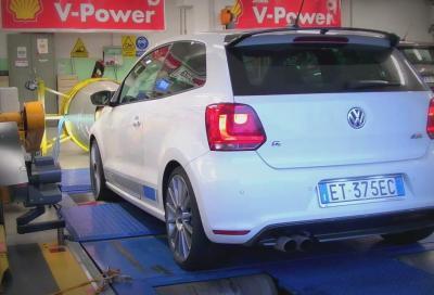 Volkswagen Polo R WRC prestazioni e potenza al banco
