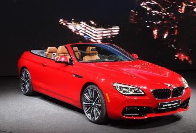 BMW, la 2015 Serie 6 Facelift e le novità di Detroit