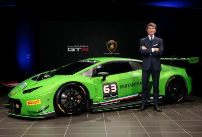Lamborghini svela la nuova Huracán GT3 2015
