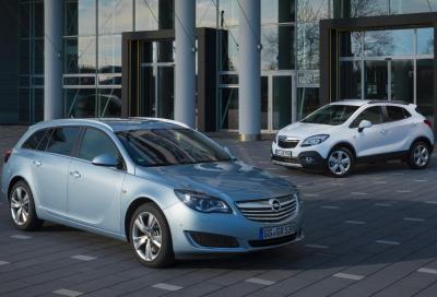 Opel, nuovi turbodiesel 1.6 e 2.0 CDTI per Mokka e Insignia