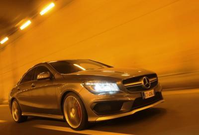 Mercedes CLA 45 AMG, la nostra prova