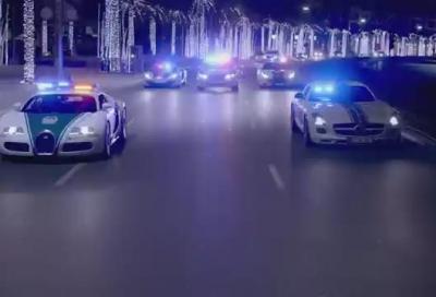 Polizia di Dubai, tutta la flotta in un nuovo video