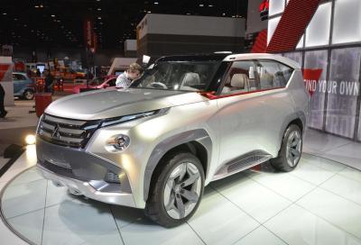 La nuova Mitsubishi Concept GC-PHEV al Chicago Auto Show