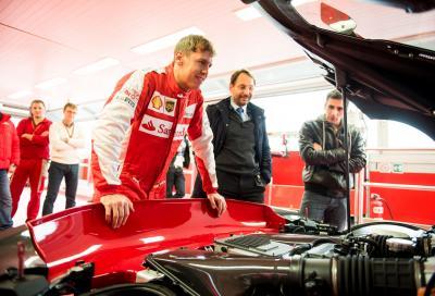 Video, Vettel prova la Ferrari FXX K sulla pista di Fiorano