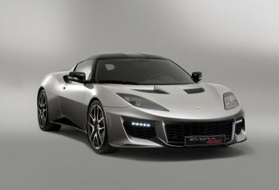 Nuova Lotus Evora 400 più potenza, meno peso