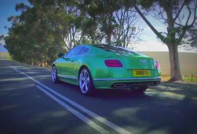 2015 Bentley Continental GT, primi video