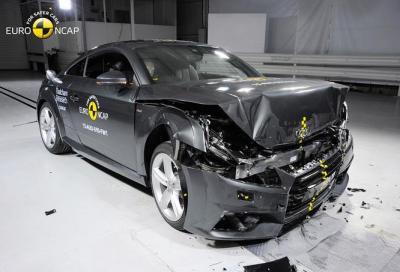 Nuova Audi TT, 4 stelle nei crash test euro NCAP