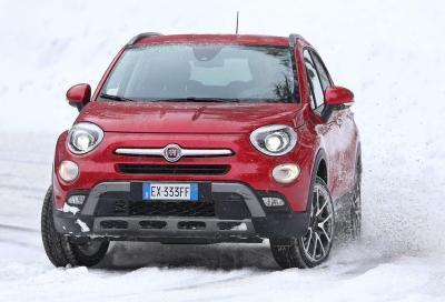 Fiat, la nuova 500X nei test in Svezia