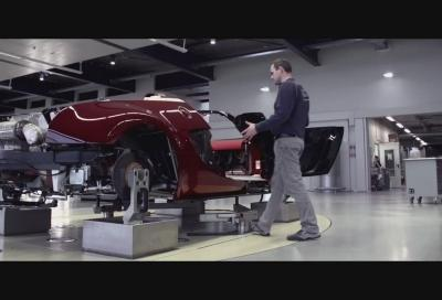 """Bugatti, così viene assemblata la Veyron  """"La Finale"""""""