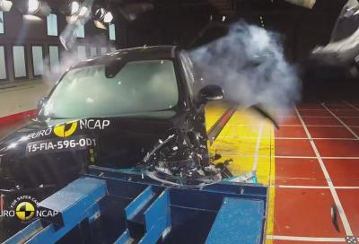Fiat 500X, 4 stelle nei crash test euroNCAP