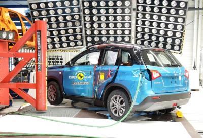 Nuova Suzuki Vitara 2015, cinque stelle nei crash test euroNCAP