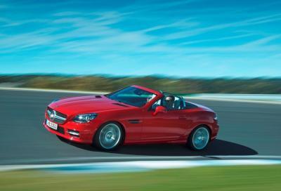 Nuova Mercedes SLK MY 2015, motori e prezzi