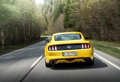 Nuova Ford Mustang 2015, prestazioni e prezzi dei modelli europei